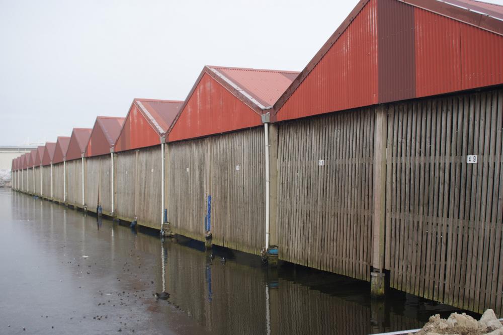 Coöperatieve jachthaven de Potmarge in Leeuwarden.